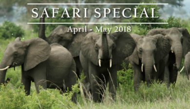jabu Adventures Safari Special for April-May 2018