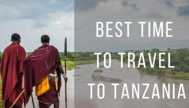 Best time to travel to Tanzania