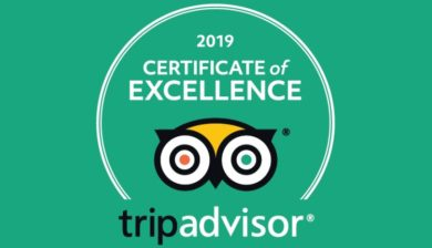 Certificate of Excellence Ajabu Adventures 2019